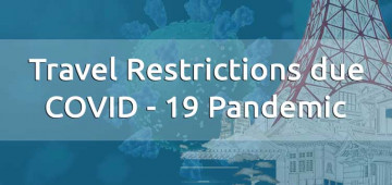 Travel Restrictions due COVID-19 Pandemic for the passengers of the flights operating under special consideration